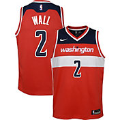Nike Youth Washington Wizards John Wall #2 Red Dri-FIT Swingman Jersey