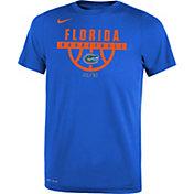 Nike Youth Florida Gators Blue Basketball Legend T-Shirt