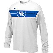Nike Youth Kentucky Wildcats Basketball Legend White Long Sleeve T-Shirt