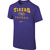 Nike Youth LSU Tigers Purple 1997 Retro Football T- Shirt