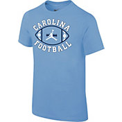 Jordan Youth North Carolina Tar Heels Carolina Blue 'Carolina Football' T-Shirt