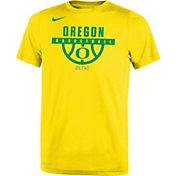 Nike Youth Oregon Ducks Yellow Basketball Legend T-Shirt