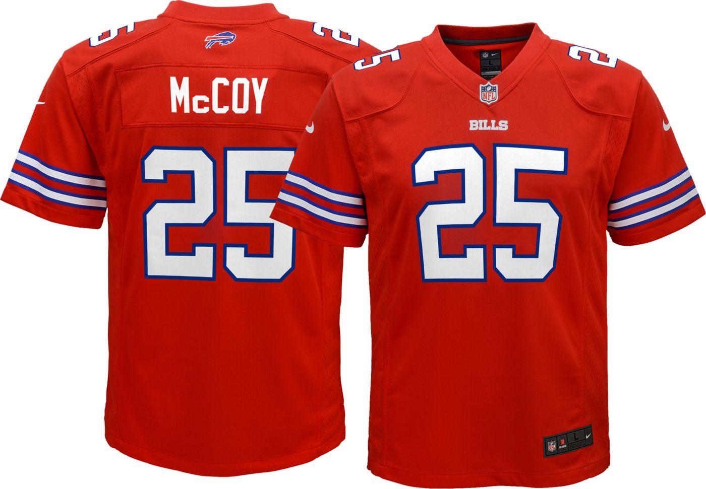 Nike Youth Color Rush Game Jersey Buffalo Bills LeSean McCoy #25