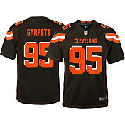 Nike Youth Home Game Jersey Cleveland Browns Myles Garrett #95
