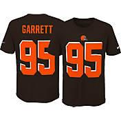 Nike Youth Home Game Jersey Cleveland Browns Myles Garrett  95 ... f1ba74f71