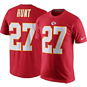 Nike Youth Kansas City Chiefs Kareem Hunt #27 Pride Red T-Shirt
