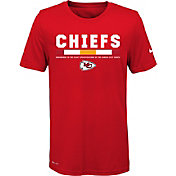 Nike Youth Kansas City Chiefs Legend Staff Performance Red T-Shirt