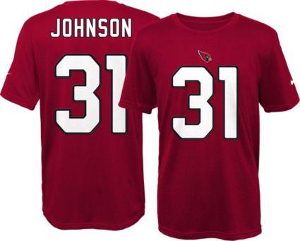 431a1bb3e927 Nike Youth Arizona Cardinals David Johnson  31 Pride Red T-Shirt ...