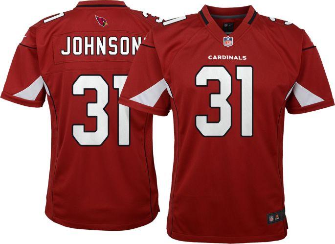 new arrival f4506 ed608 Nike Youth Home Game Jersey Arizona Cardinals David Johnson #31
