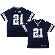 Nike Youth Home Game Jersey Dallas Cowboys Ezekiel Elliott #21