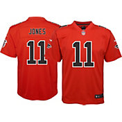 Nike Youth Color Rush Game Jersey Atlanta Falcons Julio Jones #11