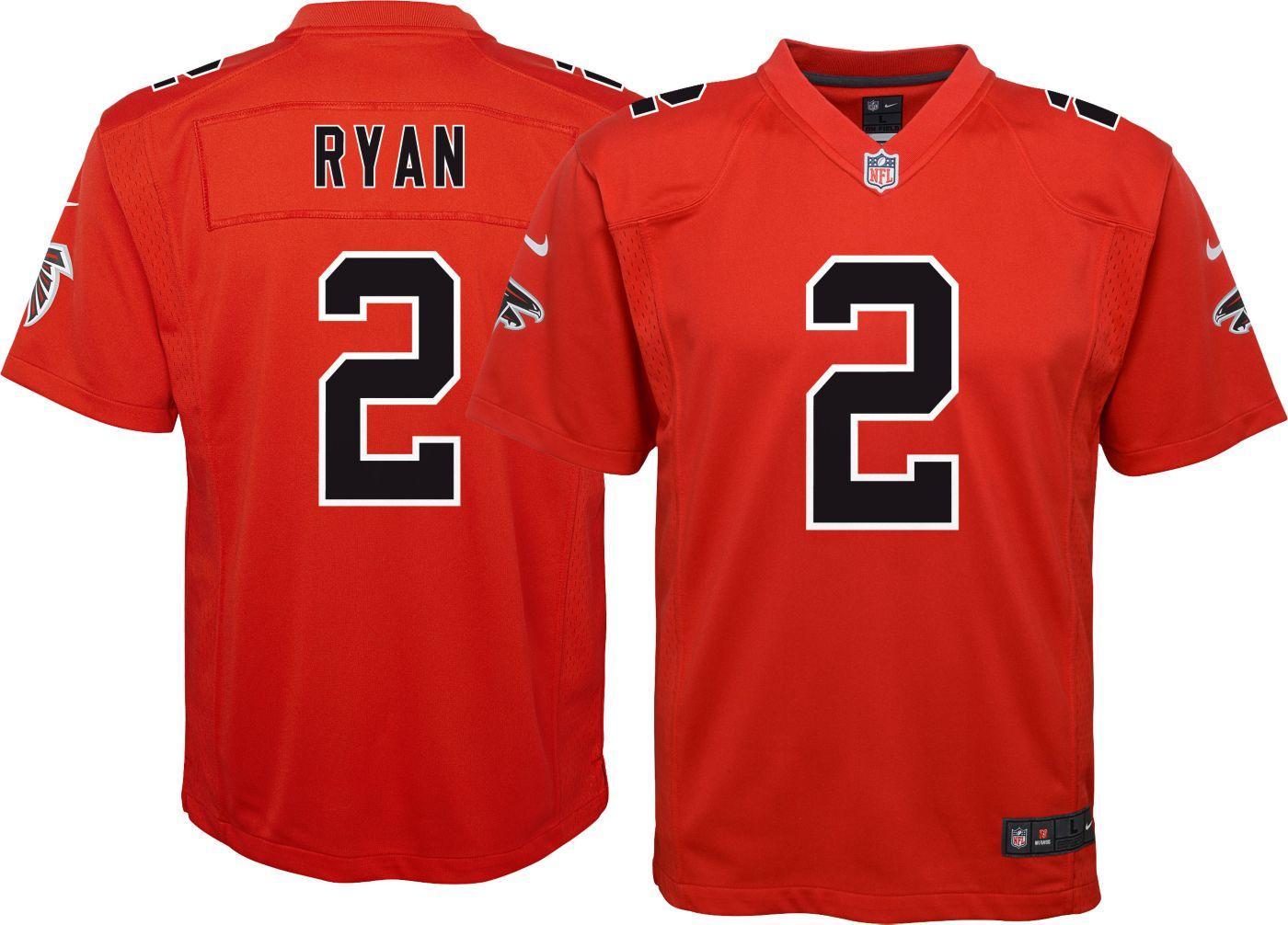 Nike Youth Color Rush Game Jersey Atlanta Falcons Matt Ryan #2