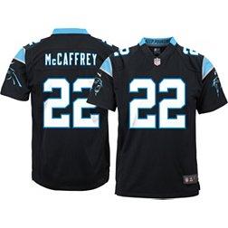 Nike Youth Carolina Panthers Christian McCaffrey #22 Black Game ...