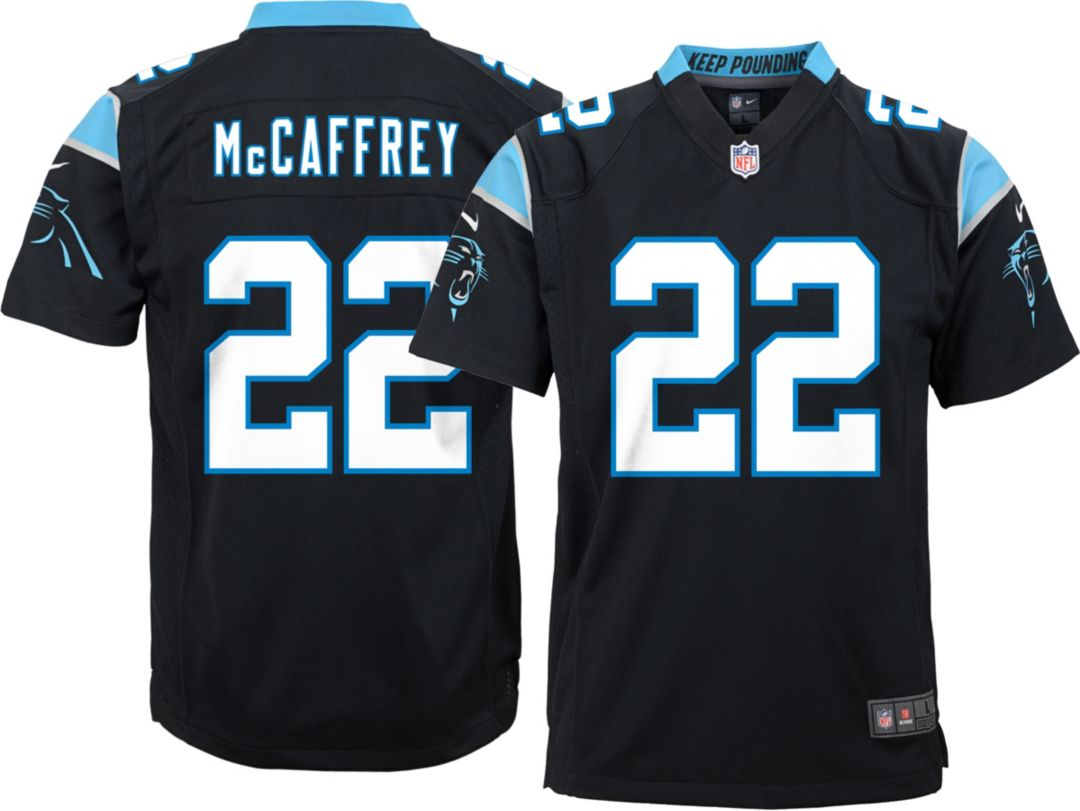 buy online 258c5 82c09 Nike Youth Home Game Jersey Carolina Panthers Christian McCaffrey #22