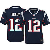 Nike Youth Home Limited Jersey New England Patriots Tom Brady #12