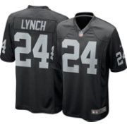 Nike Youth Home Game Jersey Oakland Raiders Marshawn Lynch #24