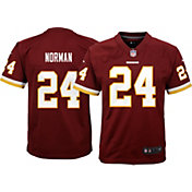 Nike Youth Home Game Jersey Washington Redskins Josh Norman #24