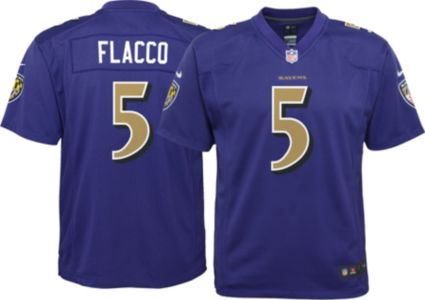 5d0c6d6d0 Nike Youth Color Rush Game Jersey Baltimore Ravens Joe Flacco #5 ...