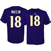 Nike Youth Baltimore Ravens Jeremy Maclin #18 Pride Purple T-Shirt