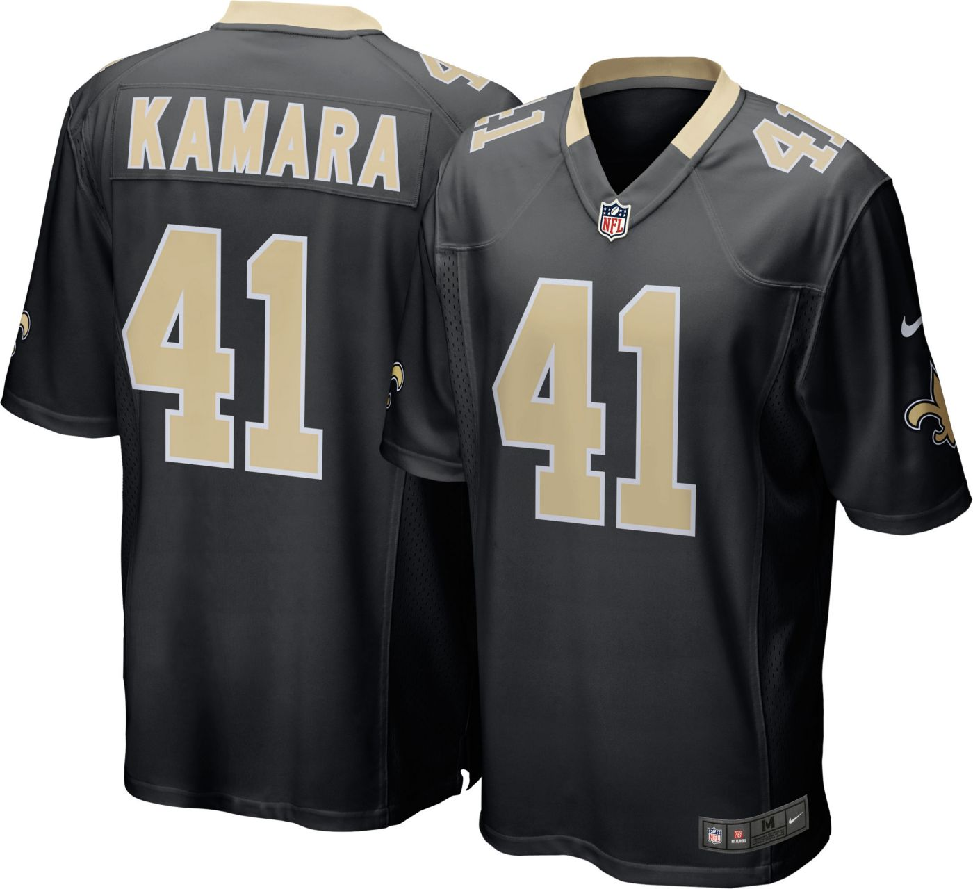 Nike Youth Home Game Jersey New Orleans Saints Alvin Kamara #41
