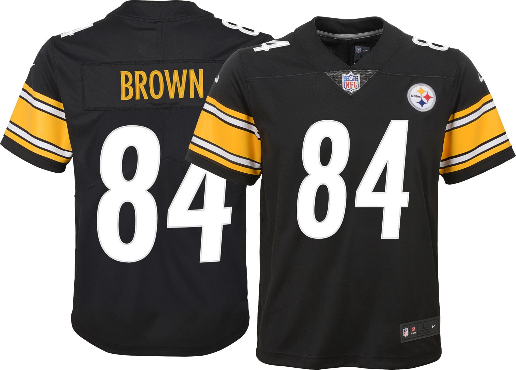 pittsburgh steelers antonio brown youth jersey