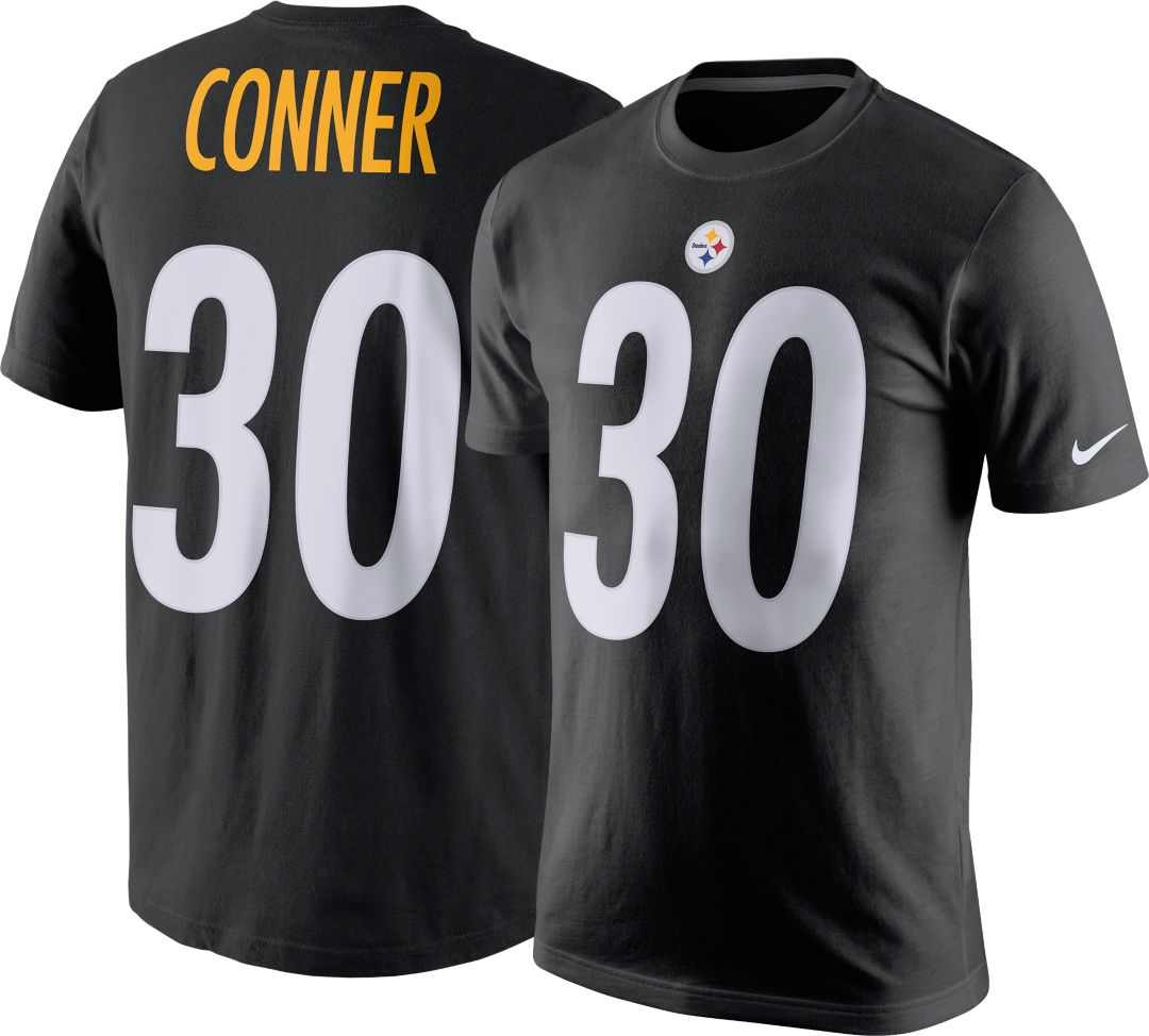 size 40 9b8a2 ca0c4 Nike Youth Pittsburgh Steelers James Conner #30 Pride Black T-Shirt