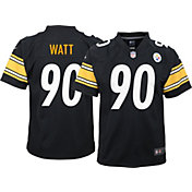 Nike Youth Pittsburgh Steelers T.J. Watt #90 Black Game Jersey