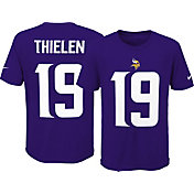 Nike Youth Minnesota Vikings Adam Thielen #19 Pride Purple T-Shirt