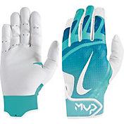 Nike Girls' Hyperdiamond Edge Softball Batting Gloves
