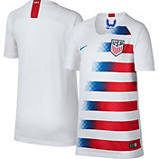 Nike Youth USA Soccer Breathe Stadium Home Replica Jersey