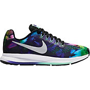 Nike Kids' Grade School Zoom Pegasus 34 Print Running Shoes