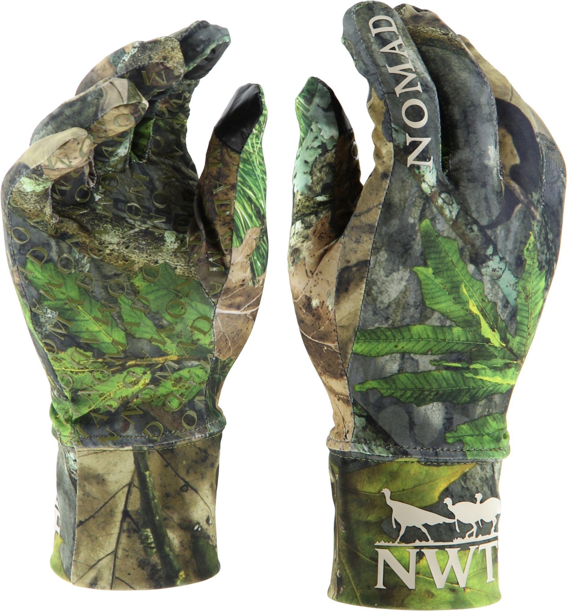 NOMAD Men's NWTF Turkey Hunting Gloves, Size: Medium/Large, Mossy Oak Obsession Nwtf thumbnail