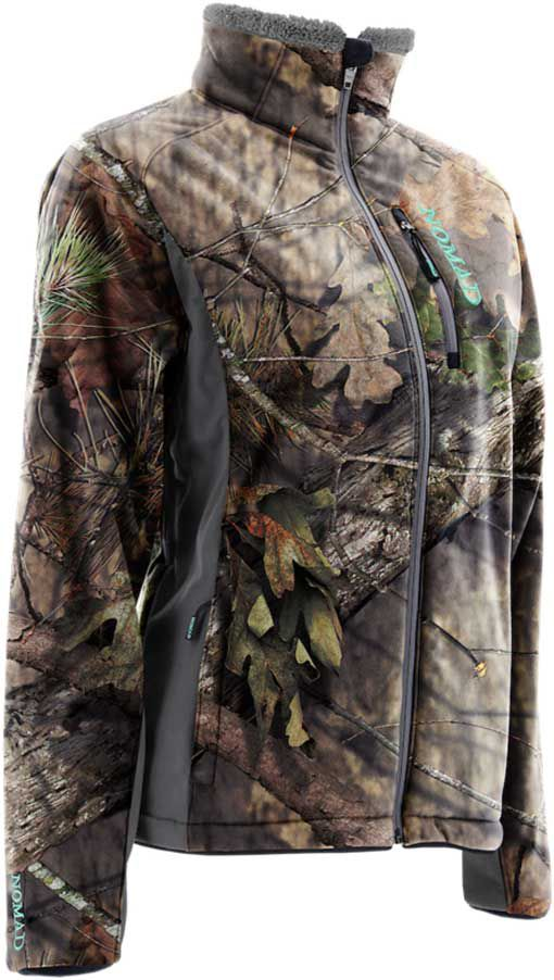 NOMAD Women's Harvester Hunting Jacket, Small, Mossy Oak Brk Up Country thumbnail