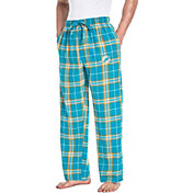 Concepts Sport Men's Miami Dolphins Huddle Flannel Pants