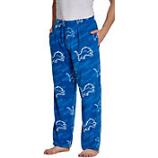 Concepts Sport Men's Detroit Lions Grandstand Fleece Pajama Pants
