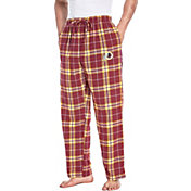 Concepts Sport Men's Washington Redskins Huddle Flannel Pants