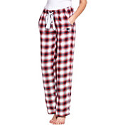 Concepts Sport Women's New England Patriots Forge Fleece Flannel Pants