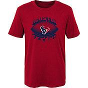 NFL Team Apparel Boys' Houston Texans Satellite Red T-Shirt