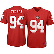 765983967 Product Image · NFL Team Apparel Youth San Francisco 49ers Solomon Thomas   94 Performance Red T-Shirt
