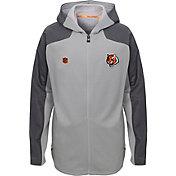 NFL Team Apparel Youth Cincinnati Bengals Delta Full-Zip Jacket