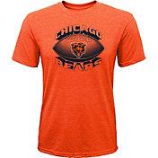 NFL Team Apparel Youth Chicago Bears Satellite Orange T-Shirt