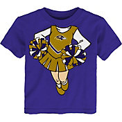 NFL Team Apparel Toddler Baltimore Ravens Dream Cheer T-Shirt