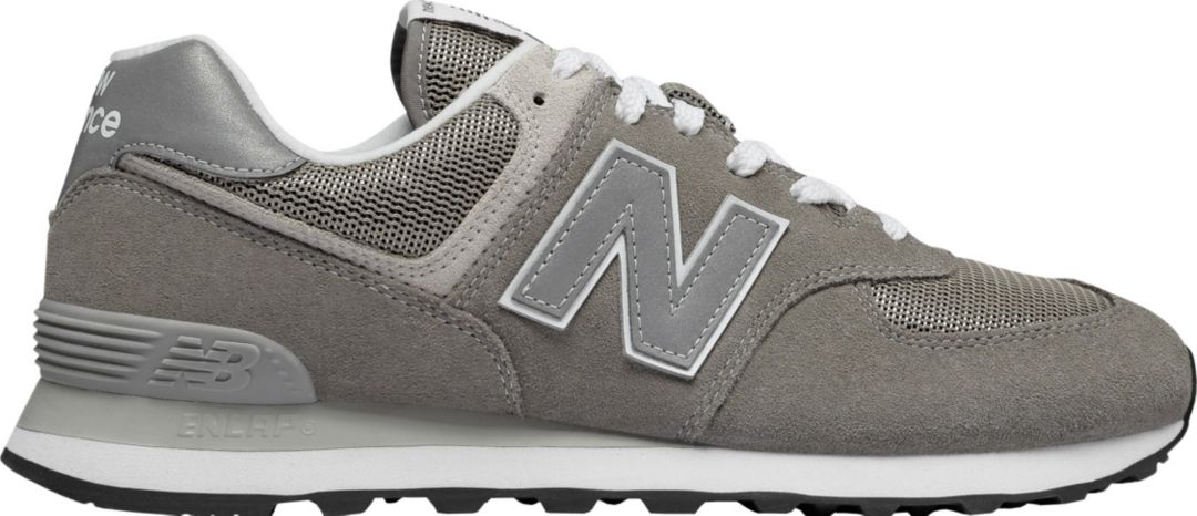 new balance 574 black and grey