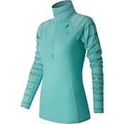 New Balance Women's Performance Merino Running Half Zip Long Sleeve Shirt