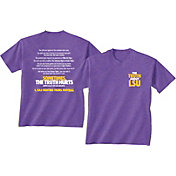 New World Graphics Men's LSU Tigers Purple 'The Truth About LSU' T-Shirt