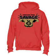 New World Graphics Youth Georgia Bulldogs Red Savage Hoodie