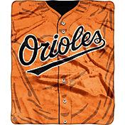 Northwest Baltimore Orioles Jersey Raschel Blanket