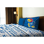 Northwest Kansas Jayhawks Anthem Twin Sheet Set