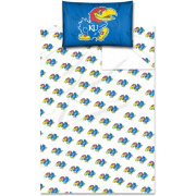 Northwest Kansas Jayhawks Twin Sheet Set