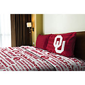 Northwest Oklahoma Sooners Anthem Twin Sheet Set